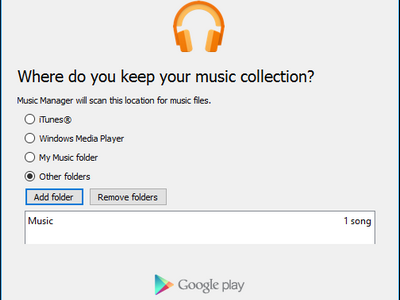Choose File Folder to Upload Music