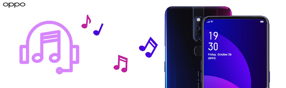import music to oppo f11