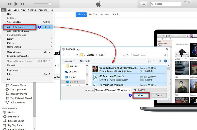 transfer iPod songs to iTunes