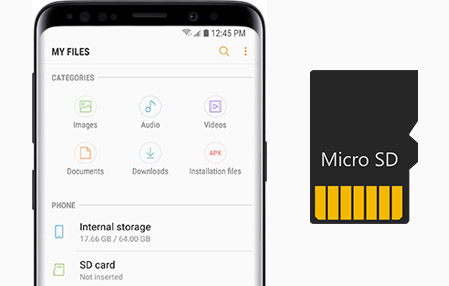 Move Files to SD Card on Samsung Galaxy S9