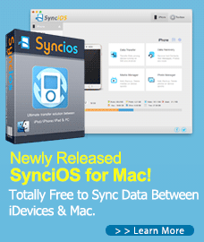 Syncios for Mac new release
